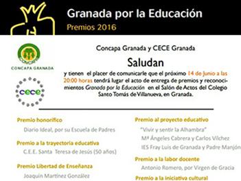 Premio Concapa AMPA destacada