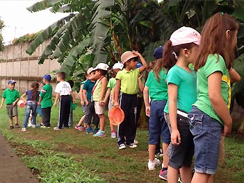 Exploradores del colegio Pureza de María Managua