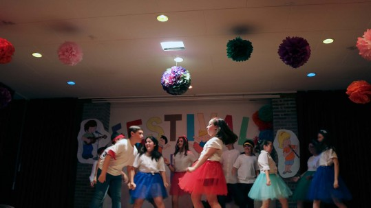 Imagen del Festival Solidario de Talentos en Pureza de María Ontinyent